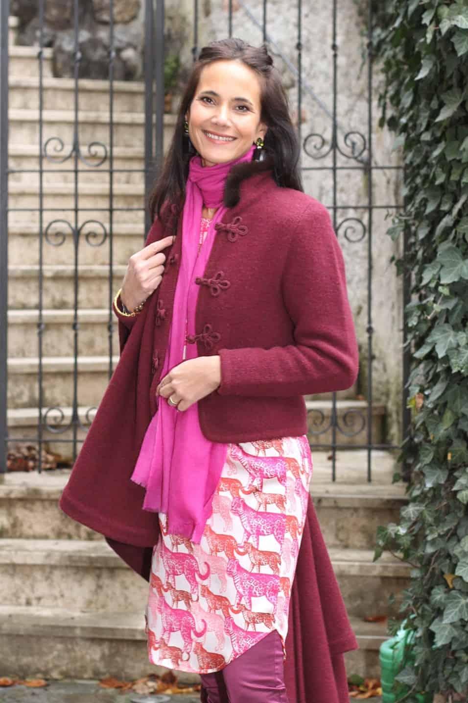 Jacket: L333 ma Color: 3191/uni (Fb.26)  Cape: L175 Color: 3191/3191+uni