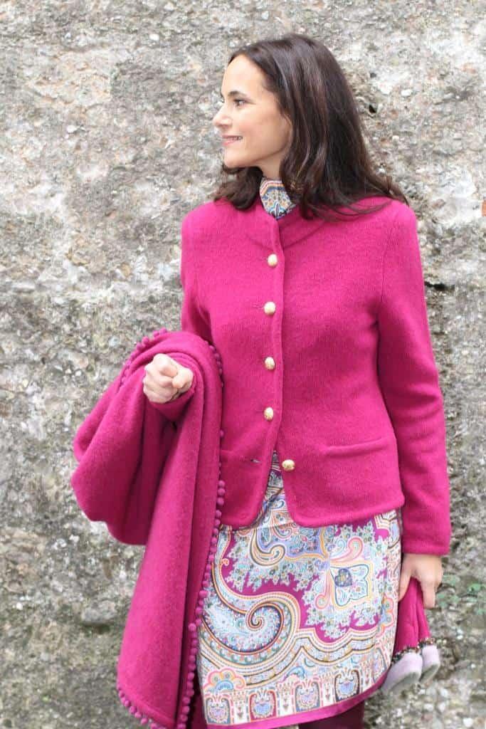 Jacket: L382 Color: 4158/uni (LÖW)  Stole: L279fu Color: 4158/uni